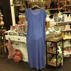 Chico's blue dress
